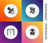 modern  simple vector icon set...   Shutterstock .eps vector #1096926431