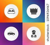 modern  simple vector icon set... | Shutterstock .eps vector #1096926467