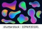 vector abstract colorful fluid... | Shutterstock .eps vector #1096930181