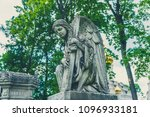 russia  moscow  necropolis of... | Shutterstock . vector #1096933181