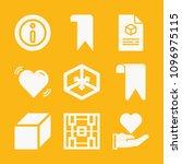 shapes filled set of vector...   Shutterstock .eps vector #1096975115