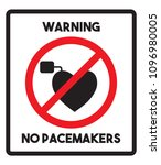 no access with pacemaker    Shutterstock .eps vector #1096980005