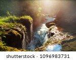 beautiful natural pools in...   Shutterstock . vector #1096983731