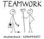 cartoon stick man drawing... | Shutterstock .eps vector #1096993457