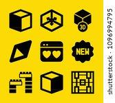 shapes filled set of vector... | Shutterstock .eps vector #1096994795