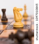 chess photographed on a... | Shutterstock . vector #1097010845