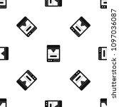 3d printer pattern repeat... | Shutterstock . vector #1097036087
