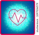 heart tag pulse   Shutterstock .eps vector #1097036579