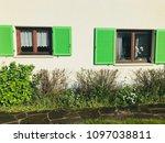 liechtenstein architecture and... | Shutterstock . vector #1097038811