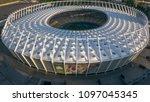 kiev ukraine may 12  aerial... | Shutterstock . vector #1097045345