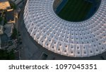 kiev ukraine may 12  aerial... | Shutterstock . vector #1097045351