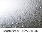 close up piece of white jigsaw... | Shutterstock . vector #1097049887
