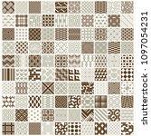 graphic ornamental tiles...   Shutterstock .eps vector #1097054231