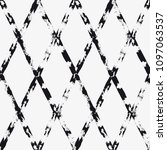 vector seamless pattern.... | Shutterstock .eps vector #1097063537