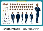 people character business set.... | Shutterstock .eps vector #1097067944