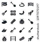 set of vector isolated black... | Shutterstock .eps vector #1097070197