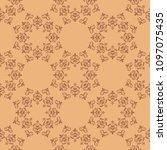 bright brown seamless texture...   Shutterstock .eps vector #1097075435