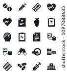 set of vector isolated black...   Shutterstock .eps vector #1097088635