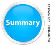 summary isolated on premium... | Shutterstock . vector #1097090615