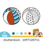 coloring book for children ... | Shutterstock .eps vector #1097120711