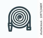 garden hose icon  gardening... | Shutterstock .eps vector #1097124809