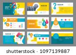 abstract presentation templates ... | Shutterstock .eps vector #1097139887