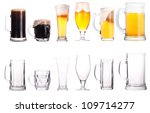 beer glasses. part of a...   Shutterstock . vector #109714277