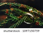 white and yellow gold with... | Shutterstock . vector #1097150759
