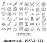 automotive parts  service and... | Shutterstock .eps vector #1097154551