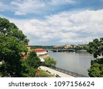 architecture of praha | Shutterstock . vector #1097156624