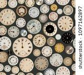 antique watch faces steam punk...