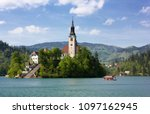 pilgrimage church of the... | Shutterstock . vector #1097162945