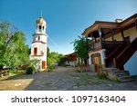 pomorie bulgaria  may 2018  st. ... | Shutterstock . vector #1097163404