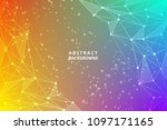 geometric graphic abstract...   Shutterstock .eps vector #1097171165