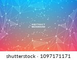 geometric graphic abstract...   Shutterstock .eps vector #1097171171