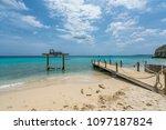 Kokomo Beach  Views around the small Caribbean island of Curacao