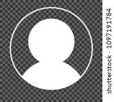 blank avatar placeholder on... | Shutterstock .eps vector #1097191784