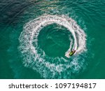people are playing at sea... | Shutterstock . vector #1097194817