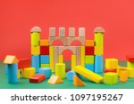 different color and shape... | Shutterstock . vector #1097195267