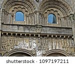 detail of silversmithery  ...   Shutterstock . vector #1097197211