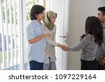 portrait of asian people with...   Shutterstock . vector #1097229164