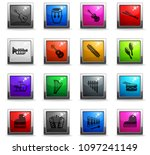 musical instruments web icons... | Shutterstock .eps vector #1097241149