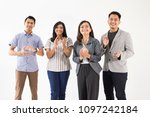 portrait of young asian people... | Shutterstock . vector #1097242184