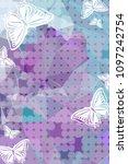 abstract vertical background...   Shutterstock .eps vector #1097242754