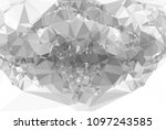 abstract mosaic decorative... | Shutterstock .eps vector #1097243585