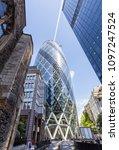 london  uk   july 15 2016  ... | Shutterstock . vector #1097247524