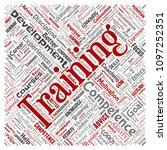 vector conceptual training ... | Shutterstock .eps vector #1097252351