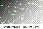 holographic background with... | Shutterstock .eps vector #1097253191