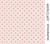seamless pattern with polka dot....   Shutterstock .eps vector #1097276549