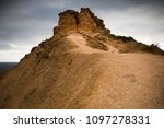 road ascending to the top of...   Shutterstock . vector #1097278331